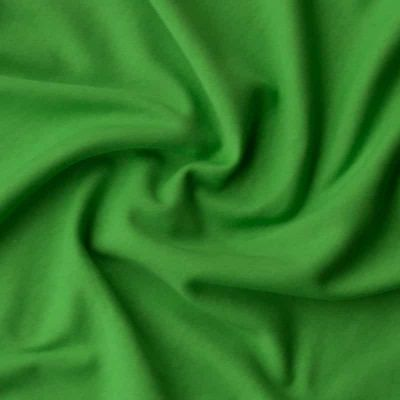 Cotton Interlock Jersey - Solid Grass Green