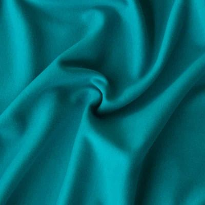 Remnant -Interlock - Solid Teal -34 x 145cm