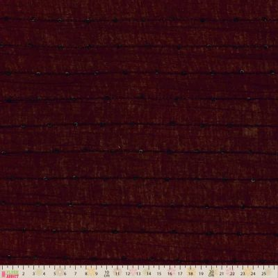 Remnant - Jersey - Brown With Stitched Sequins - 115cm x 150cm