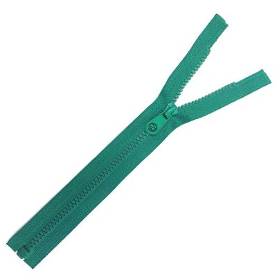 Chunky Open Ended Zips - Jade - 10 Inches Up to 36 Inches