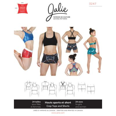 Jalie - Crop Tops And Shorts Pattern