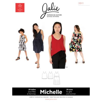 Jalie - Michelle Tanks And Dress Pattern