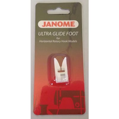 Remnant -  Janome Ultra Glide (Teflon) Foot is for Janome Horizontal Rotary Hook Models Cat B/C