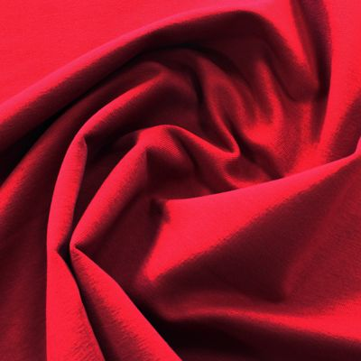 Organic Bamboo French Terry Fabric - Claret