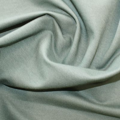 Organic Bamboo French Terry Fabric - Forest Green - Per Metre