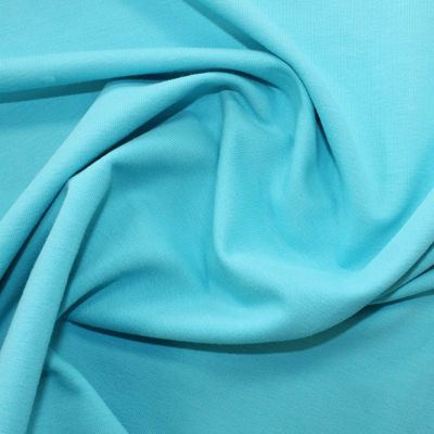 Organic Bamboo French Terry Fabric - Turquoise