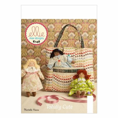 Kwik Sewing Pattern K0148 Tote and Dolls