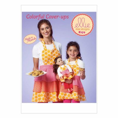 Kwik Sewing Pattern K0172 Misses'/Girls'/Dolls' Apron