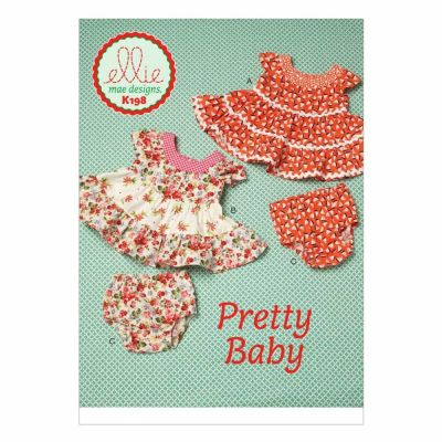 Kwik Sewing Pattern K0198 Baby Dresses and Panties