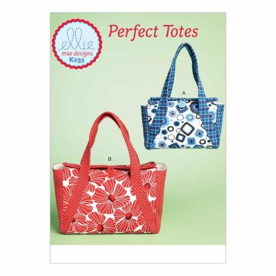 Kwik Sewing Pattern K0235 Lined Bags with Two Inside Pockets