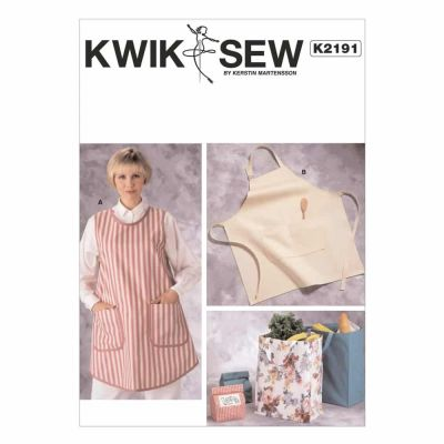 Kwik Sewing Pattern K2191 Aprons & Bags