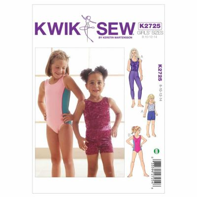 Kwik Sewing Pattern K2725 Leotards, Leggings & Shorts