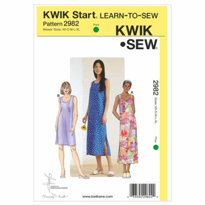 Kwik Sewing Pattern K2982 Dresses
