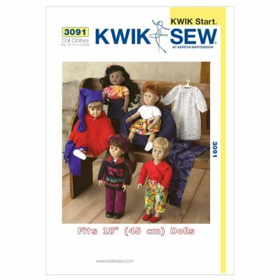 Kwik Sewing Pattern K3091 Doll Clothes