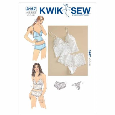 Kwik Sewing Pattern K3167 Camisoles & Panties