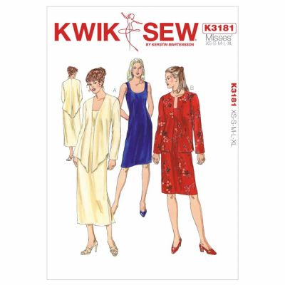 Kwik Sewing Pattern K3181 Dress & Jackets