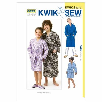Kwik Sewing Pattern K3329 Robes