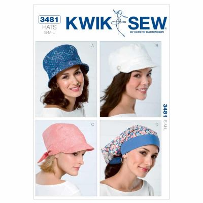 Kwik Sewing Pattern K3481 Hats