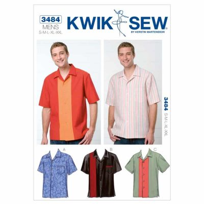 Kwik Sewing Pattern K3484 Shirts