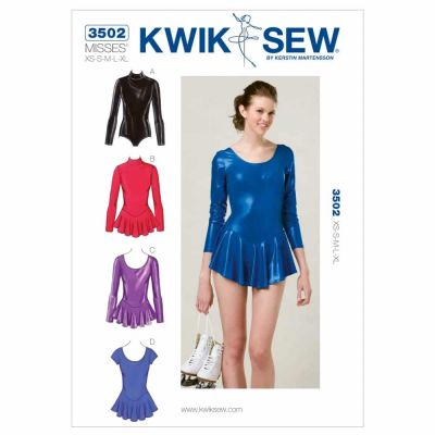Kwik Sewing Pattern K3502 Leotards