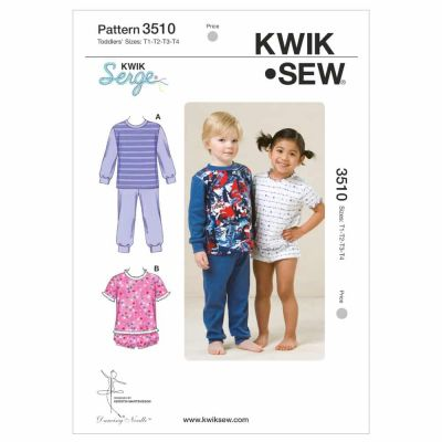 Kwik Sewing Pattern K3510 Pajamas