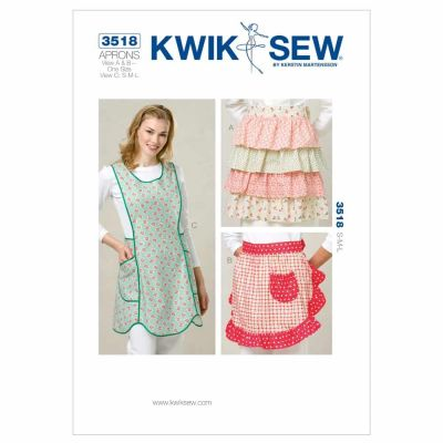 Kwik Sewing Pattern K3518 Aprons