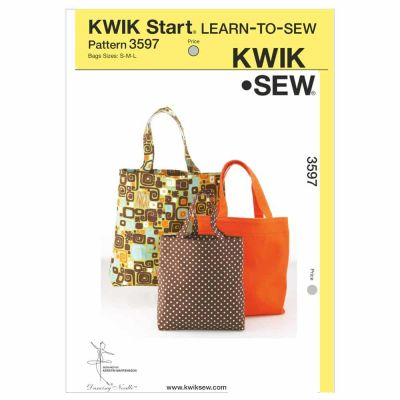 Kwik Sewing Pattern K3597 Bags
