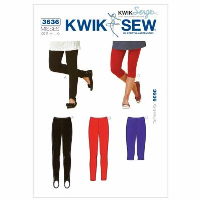 Kwik Sewing Pattern K3636 Leggings