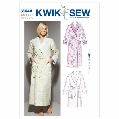 Kwik Sewing Pattern K3644 Robes