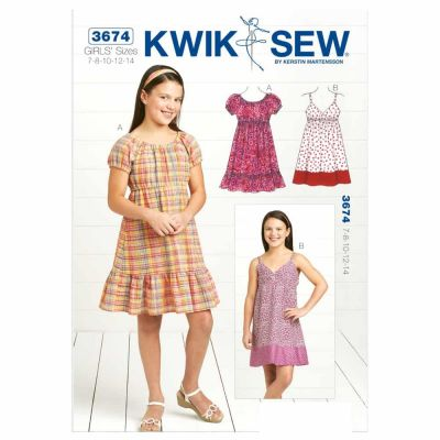 Kwik Sewing Pattern K3674 Dresses