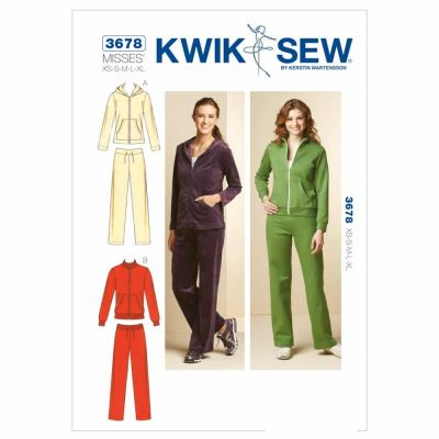 Kwik Sewing Pattern K3678 Jackets & Pants