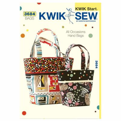 Kwik Sewing Pattern K3684 All Occasions Hand Bags