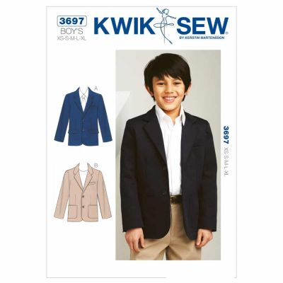 Kwik Sewing Pattern K3697 Blazer