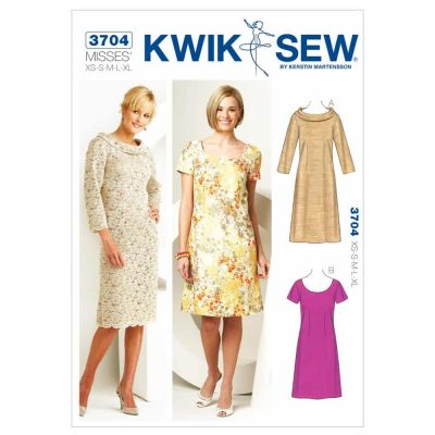 Kwik Sewing Pattern K3704 Dresses