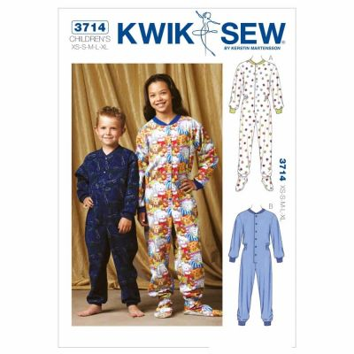 Kwik Sewing Pattern K3714 Pajamas