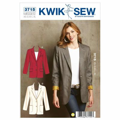 Kwik Sewing Pattern K3715 Blazers