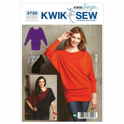 Kwik Sewing Pattern K3720 Tops