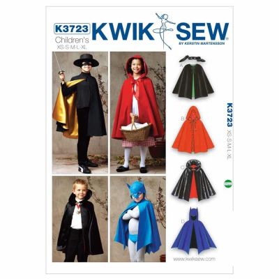Kwik Sewing Pattern K3723 Capes
