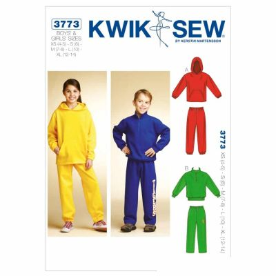 Kwik Sewing Pattern K3773 Shirts & Pants