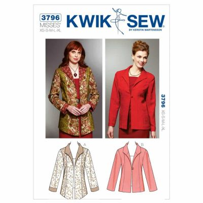 Kwik Sewing Pattern K3796 Jackets