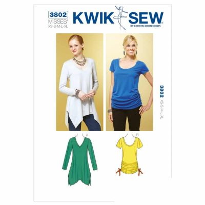 Kwik Sewing Pattern K3802 Tops