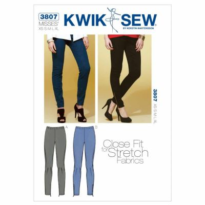 Kwik Sewing Pattern K3807 Pants