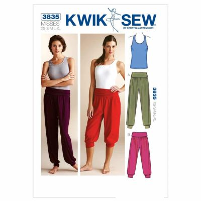 Kwik Sewing Pattern K3835 Top & Pants