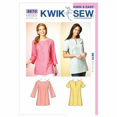 Kwik Sewing Pattern K3870 Tunics