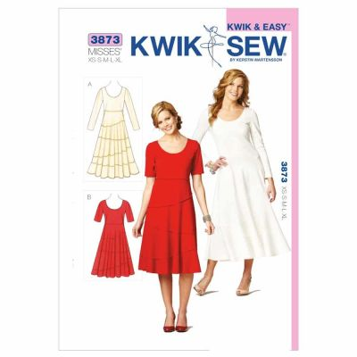 Kwik Sewing Pattern K3873 Dresses