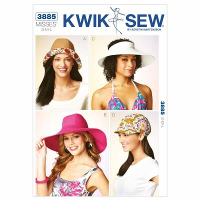 Kwik Sewing Pattern K3885 Hats