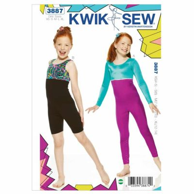 Kwik Sewing Pattern K3887 Unitard
