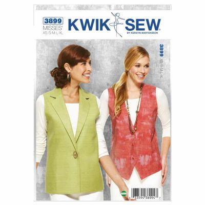 Kwik Sewing Pattern K3899 Vests