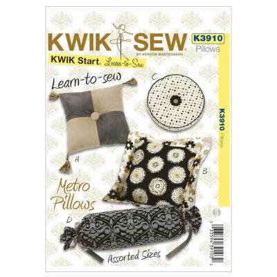 Kwik Sewing Pattern K3910 Metro Pillows