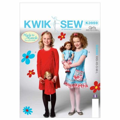 Kwik Sewing Pattern K3959 Children's/Girls' Dress